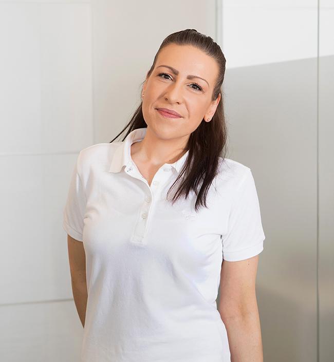 Sarah Imlau von der Praxis Astrid Irmisch